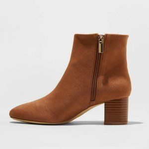 Women's Kina Booties Cognac Sz 11
